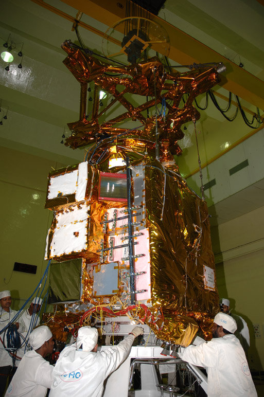 Images from Chandrayaan 1